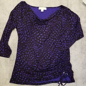Michael Kors fotted 3/4 sleeved blouse